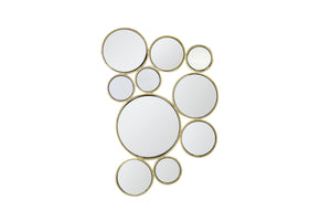 ARIA GOLD DECORATIVE WALL MIRROR