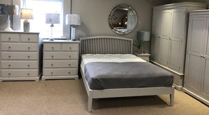 DOVER GREY 4+2 CHEST OF DRAWERS