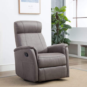 Marley Swivel Reclining Armchair Grey