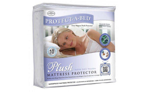 PLUSH SINGLE MATTRESS PROTECTOR