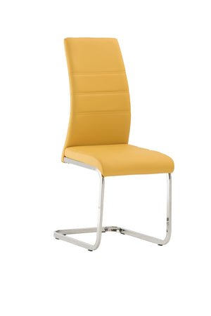 RUPERT DINING CHAIR - YELLOW