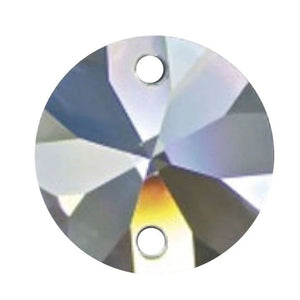 Round Bead Crystal 14mm Clear Prism with One Hole on Top