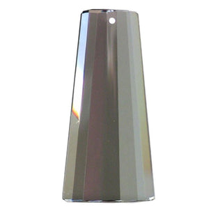 Obelisk Crystal 80mm Satin Prism with One Hole on Top