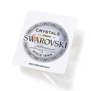 Swarovski Strass Crystal 14mm Topaz Octagon Lily Two Holes