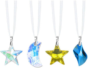 Swarovski Strass Prisms 4 Pcs Crystal Colorful Crystal SunCatcher Rainbow Maker Ornaments
