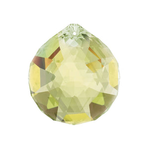 Swarovski Strass Crystal 20mm Light Topaz Crystal Ball