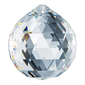 Swarovski Strass Large 70mm Clear Crystal Ball Prism