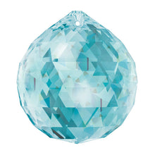 Load image into Gallery viewer, Swarovski Strass Crystal 30mm Antique Green Faceted Ball prism
