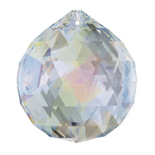 Load image into Gallery viewer, Swarovski Strass Crystal 30mm Aurora Borealis Faceted Ball prism