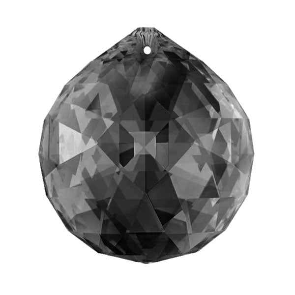 Swarovski Strass Crystal 30mm Silver Shade Faceted Ball Prism