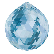 Load image into Gallery viewer, Swarovski Strass Crystal 40mm Medium Sapphire Faceted Ball prism