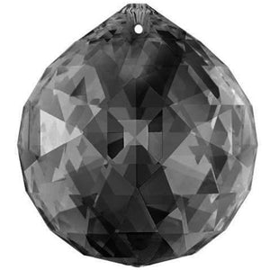 Swarovski Strass Crystal 60mm Silver Shade Faceted Ball Prism