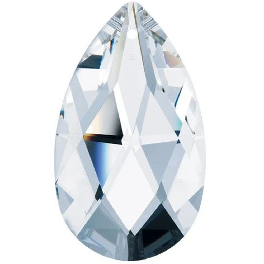Swarovski Strass Crystal 89mm (3.5 inches) Clear Almond prism