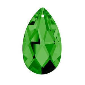 Swarovski Strass crystal 50mm (2 in.) Emerald (Green) Almond prism