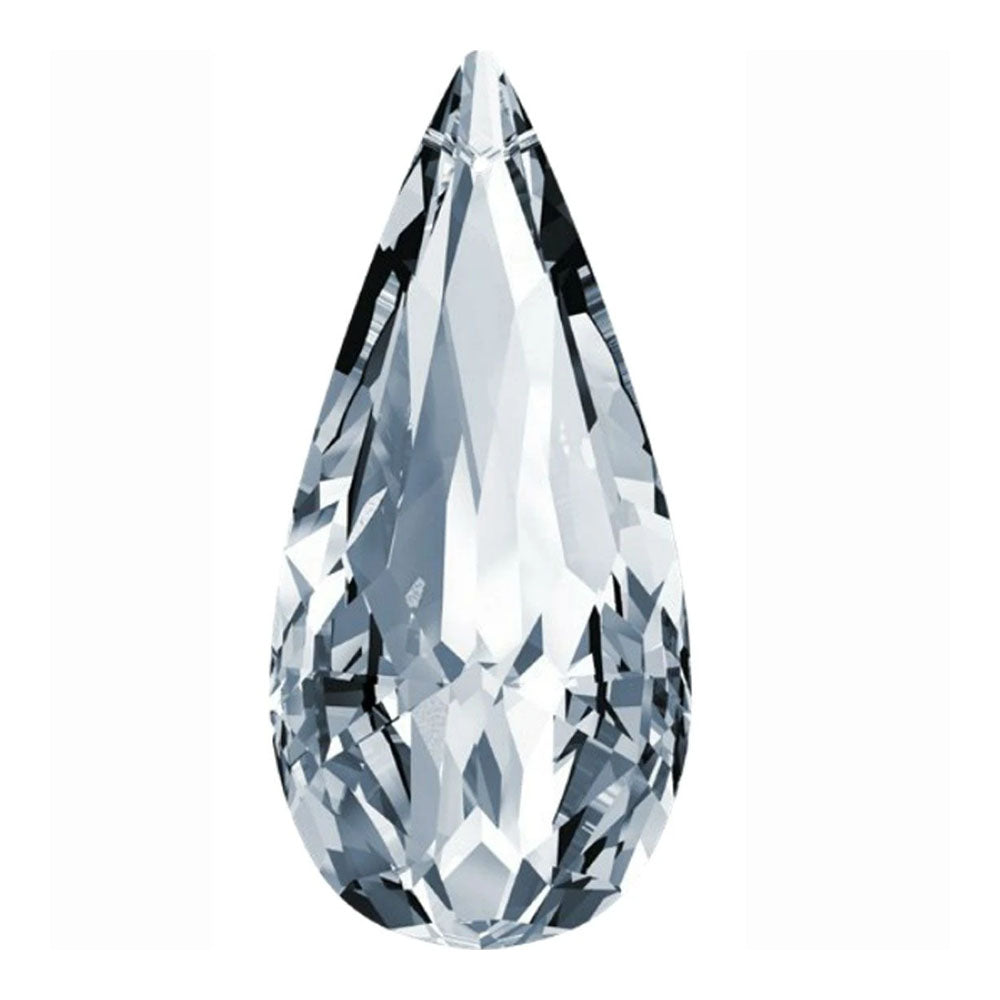 Swarovski Strass Crystal 89mm (3.5 inches) Clear Radiant Pear Shape Prism