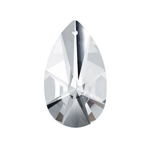 Swarovski Strass Crystal 38mm (1.5 inches) Clear Modern Almond prism