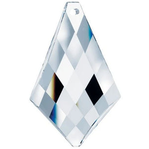 Swarovski Strass Crystal 76mm (3 inches) Clear Kite Faceted prism