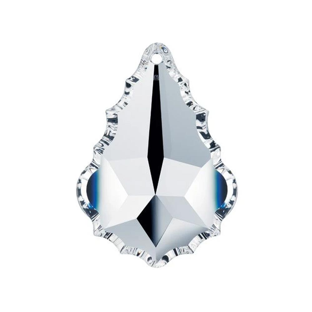 Swarovski Strass Crystal 63mm (2.5 inches) Clear French Pendeloque prism