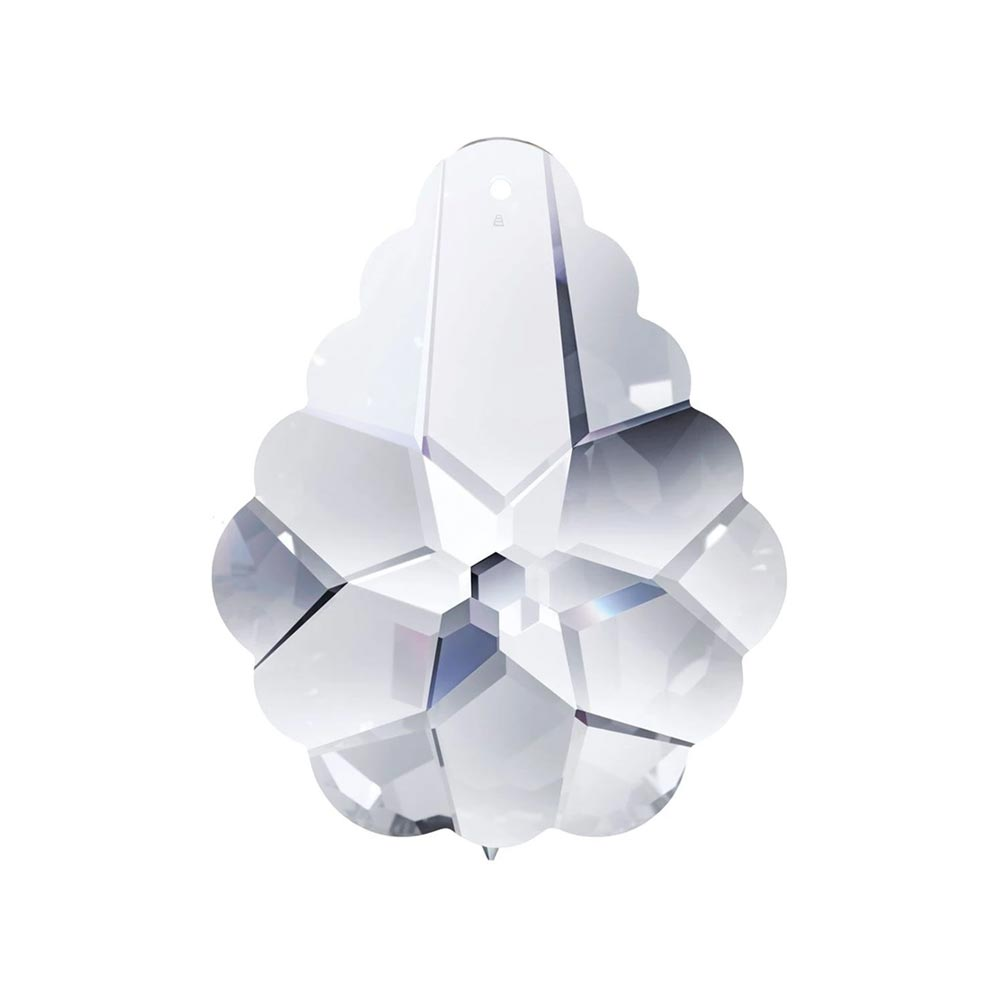 Swarovski Strass Crystal 63mm (2.5 inches) Clear Arabesque Pendeloque prism