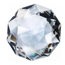 Load image into Gallery viewer, Swarovski Strass Crystal 50mm (2 inches) Clear Dahlia Faceted Prism