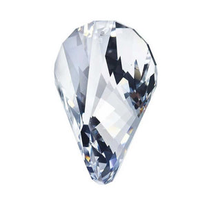 Swarovski Strass Crystal 50mm (2 inches) Clear Oloid prism