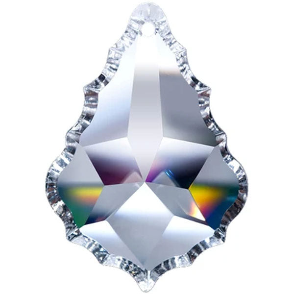 Pendeloque Crystal 5 inch Clear Prism with One Hole on Top