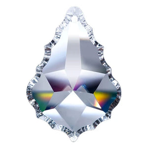 Pendeloque Crystal 4.5 inch Clear Prism with One Hole on Top