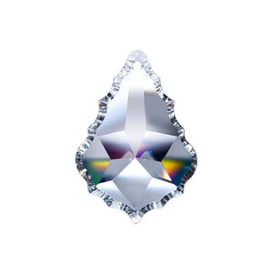 Pendeloque Crystal 2 inch inch Clear Prism with One Hole on Top