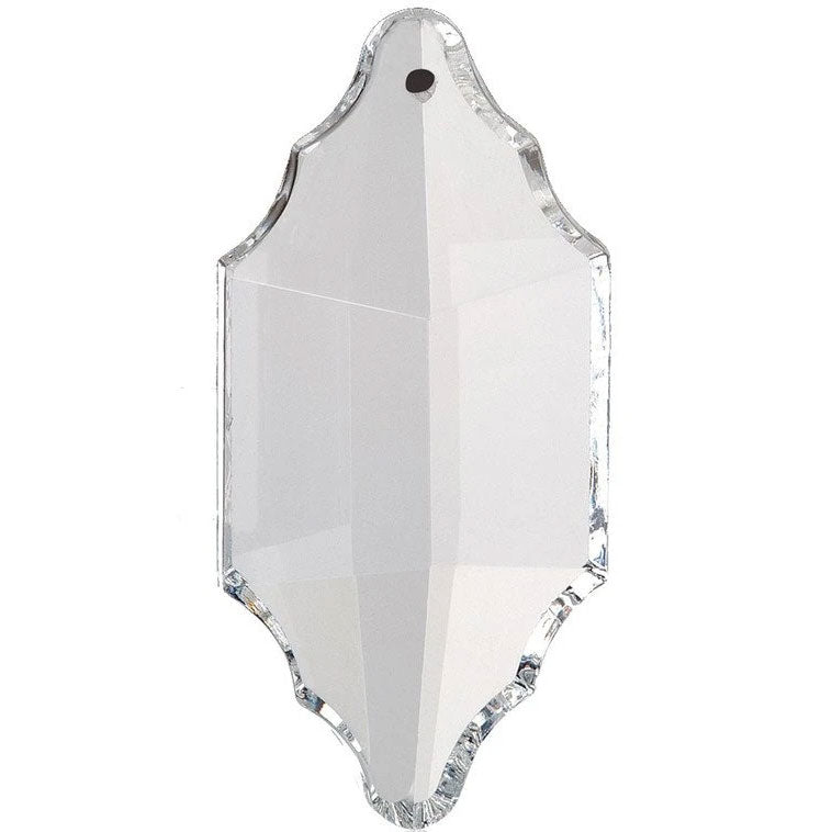 Colonial Crystal 2.5 inch Clear Prism with One Hole on Top
