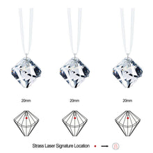 Load image into Gallery viewer, Swarovski Strass Crystal Prism Set 3, Crystal Clear Ball Pendant 20mm Faceted Ball-Form Prisms Crystal Ornaments Sun Catcher Rainbow Maker