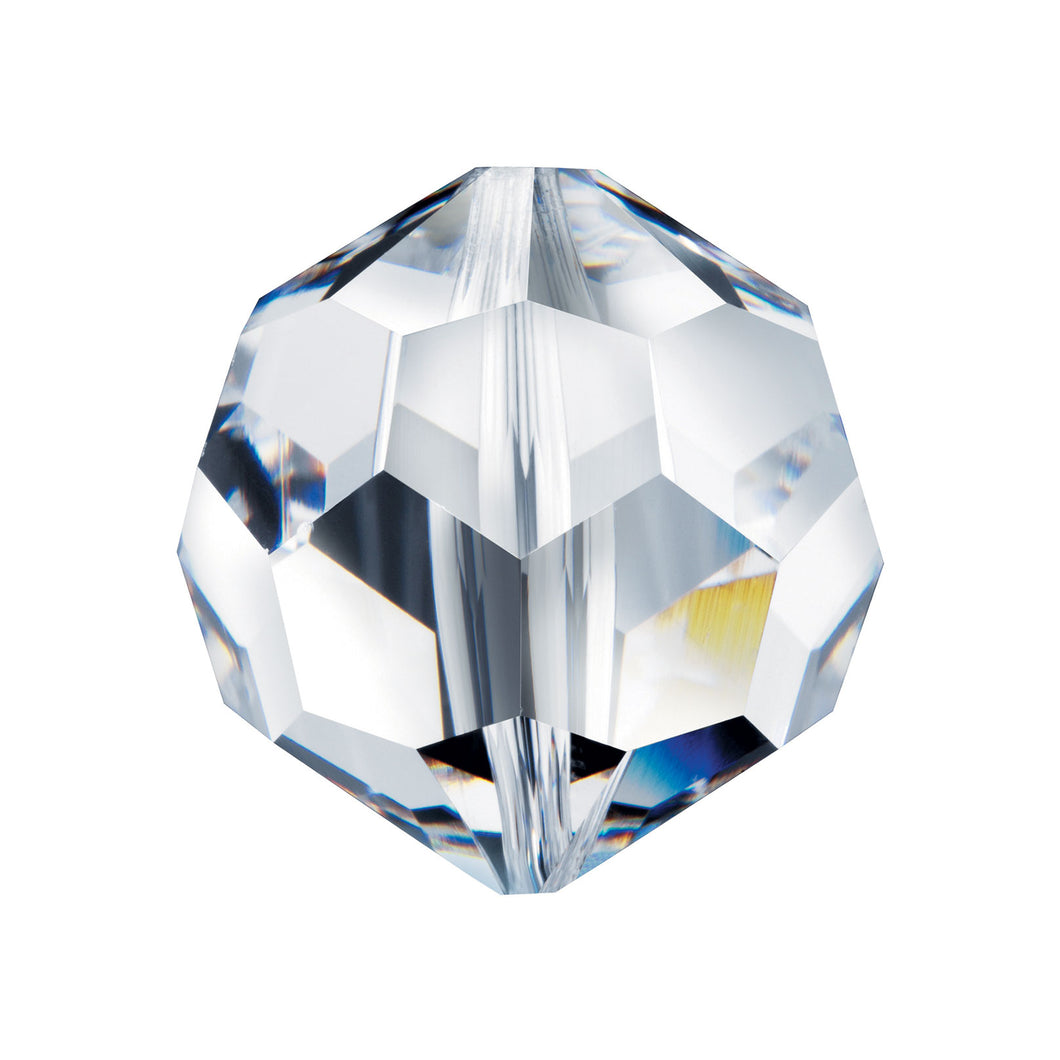 Swarovski Spectra crystal 8mm Clear Small Faceted Ball bead