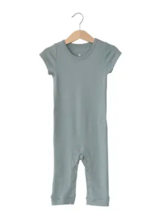 Organic Short Sleeve Jumpsuit | Tradewinds
