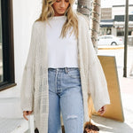 Knit Netted Cardigan