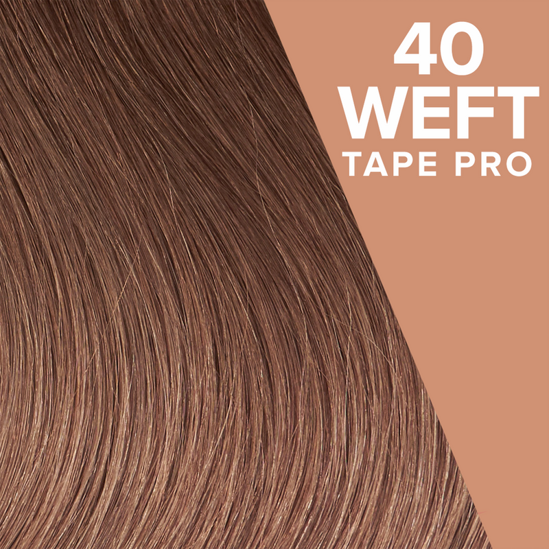 Ash Brown (12) Pack 40 Tape Wefts