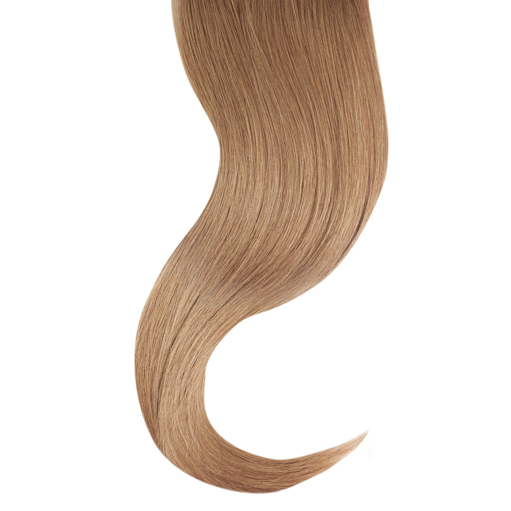 "Tape In Natural Hair Extensions. BARCELÓ Professional Tape-In 18"" -   Tape-In 24"" GOLDEN BLONDE #14 Natural Straight Hair Extensions. USA NEXT WORKING DAY DELIVERY ..."