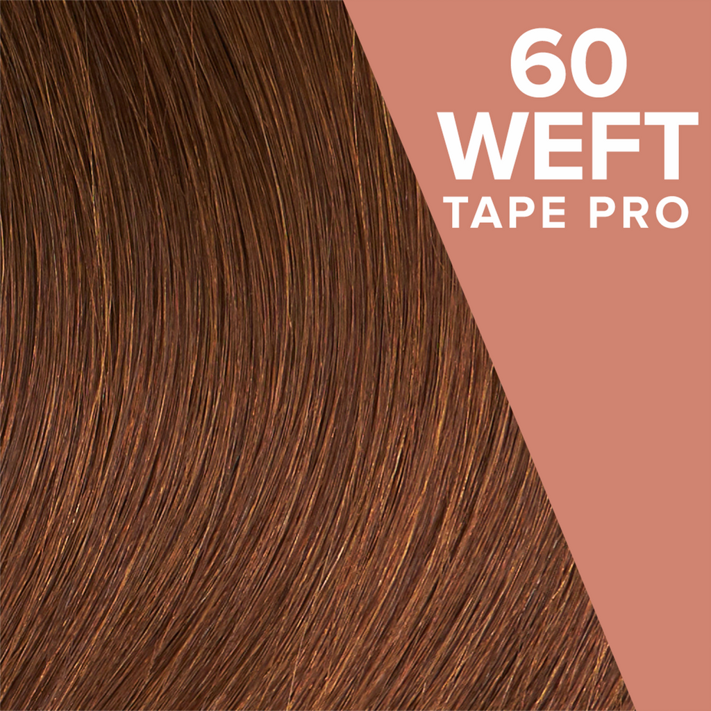 Chesnut Brown (3) Pack 60 Tape Wefts