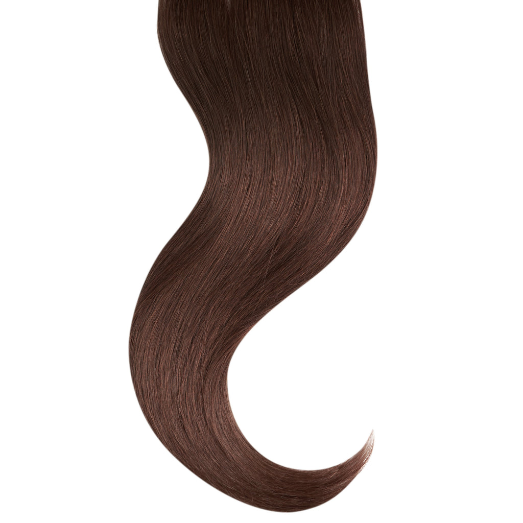 "Tape In Natural Hair Extensions. BARCELÓ Professional Tape-In 18"" -   Tape-In 24"" Chocolate temptation #5 Natural Straight Hair Extensions. USA NEXT WORKING DAY DELIVERY ..."