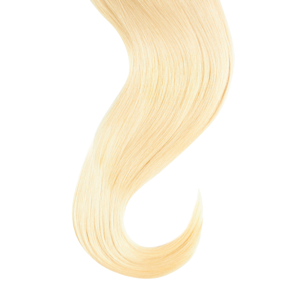 "Tape In Natural Hair Extensions. BARCELÓ Professional Tape-In 18"" -   Tape-In 24"" Donatella Blonde #613 Natural Straight Hair Extensions. USA NEXT WORKING DAY DELIVERY ..."