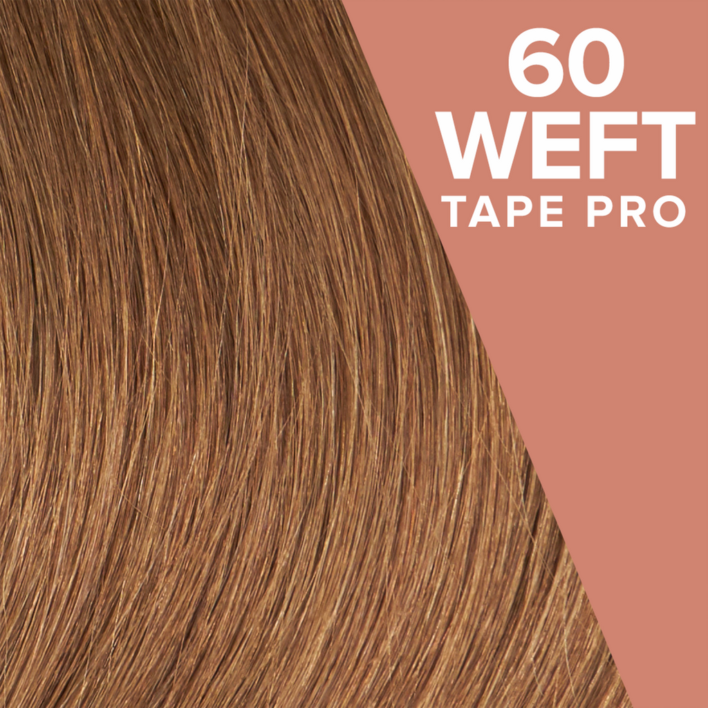 Dark Ash Blonde (66) Pack 60 Tape Wefts