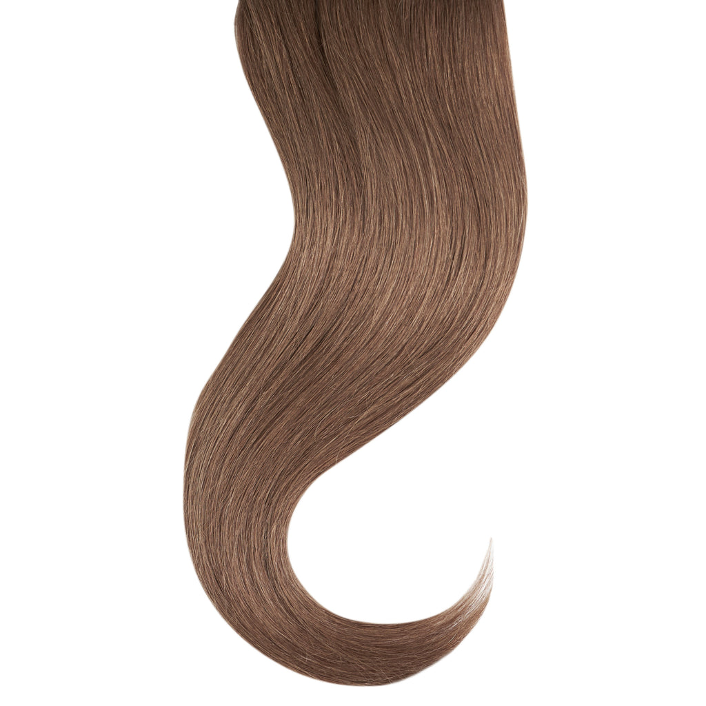 "Tape In Natural Hair Extensions. BARCELÓ Professional Tape-In 18"" -   Tape-In 24"" Dark Ash Blonde #66 Natural Straight Hair Extensions. USA NEXT WORKING DAY DELIVERY ..."