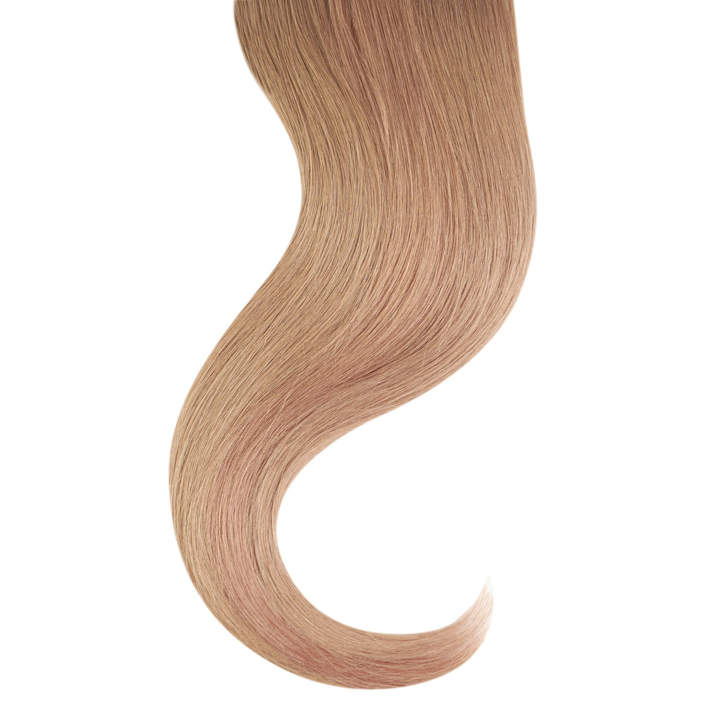 "Tape In Natural Hair Extensions. BARCELÓ Professional Tape-In 18"" -   Tape-In 24"" Light Ash Brown #7 Natural Straight Hair Extensions. USA NEXT WORKING DAY DELIVERY ..."