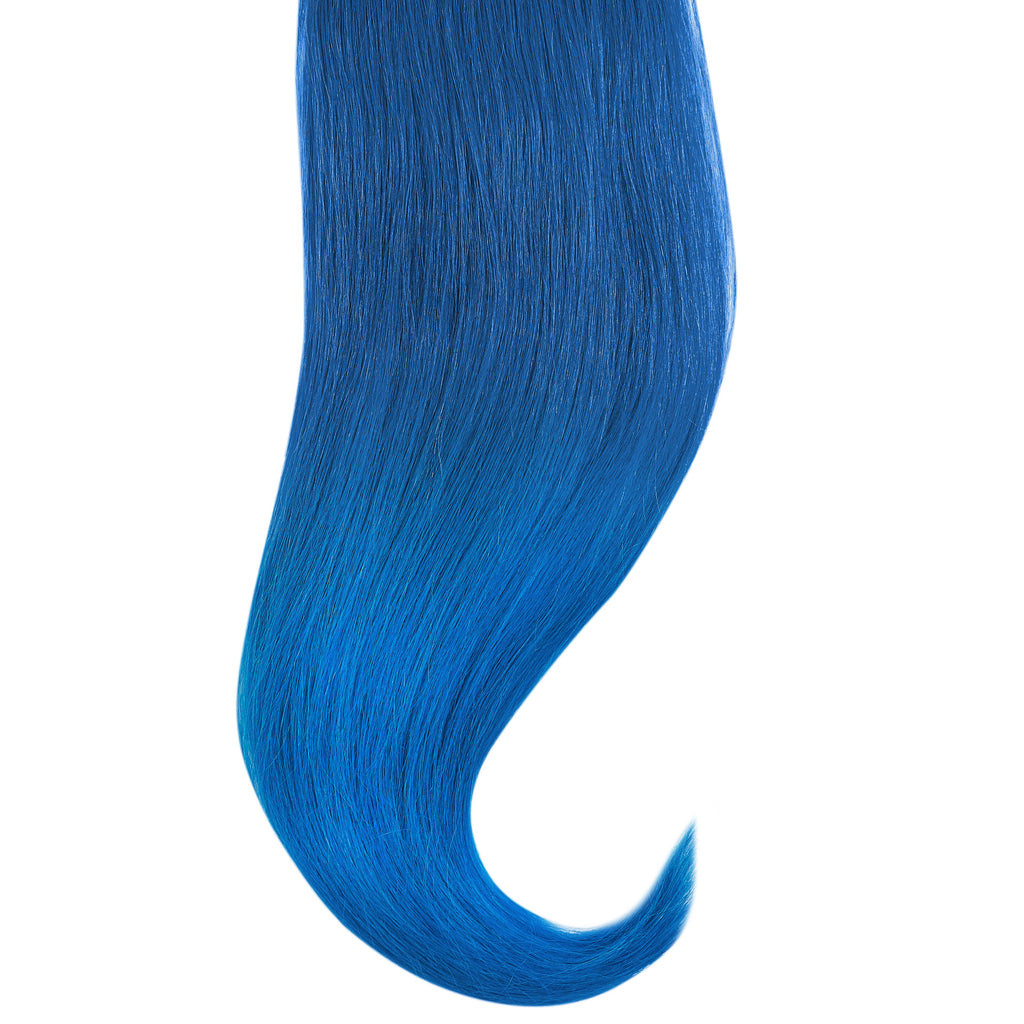 "Tape In Natural Hair Extensions. BARCELÓ Professional Tape-In 18"" -   Tape-In 24"" BLUE FANTASY HAIR  Natural Straight Hair Extensions. USA NEXT WORKING DAY DELIVERY ..."