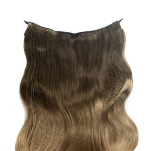 Magic Synthetic Clip in Hair Extensions Cream Caramel Balayage (10TN16)