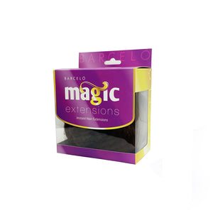Magic Synthetic Clip in Hair Extensions Copper Brown (#12)