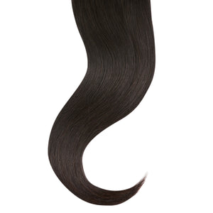"Tape In Natural Hair Extensions. BARCELÓ Professional Tape-In 18"" -   Tape-In 24"" NATURAL #1 Natural Straight Hair Extensions. USA NEXT WORKING DAY DELIVERY ..."