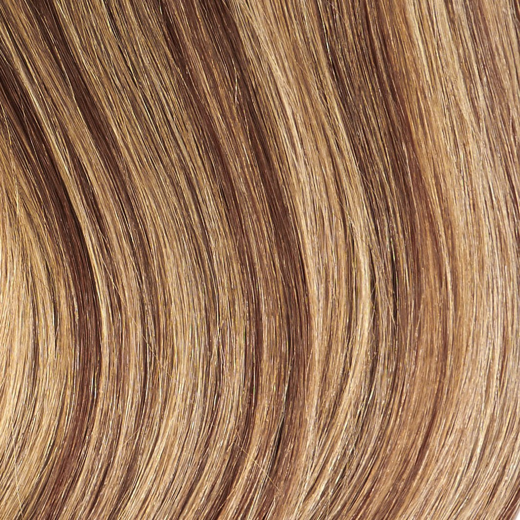 "Tape In Natural Hair Extensions. BARCELÓ Professional Tape-In 18"" -   Tape-In 24"" Cream Caramel Highlights (4/25) Natural Straight Hair Extensions. USA NEXT WORKING DAY DELIVERY ..."