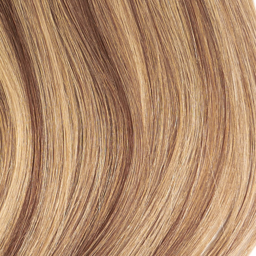 "Tape In Natural Hair Extensions. BARCELÓ Professional Tape-In 18"" -   Tape-In 24"" Sunkissed Highlights (6/27) Natural Straight Hair Extensions. USA NEXT WORKING DAY DELIVERY ..."