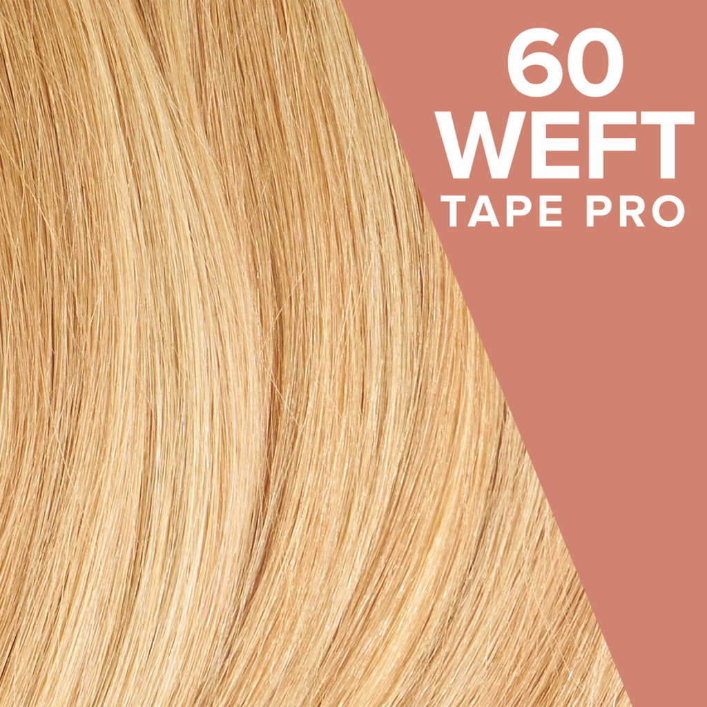 Golden Blonde Highlights (9/25) Pack 60 Tape Wefts