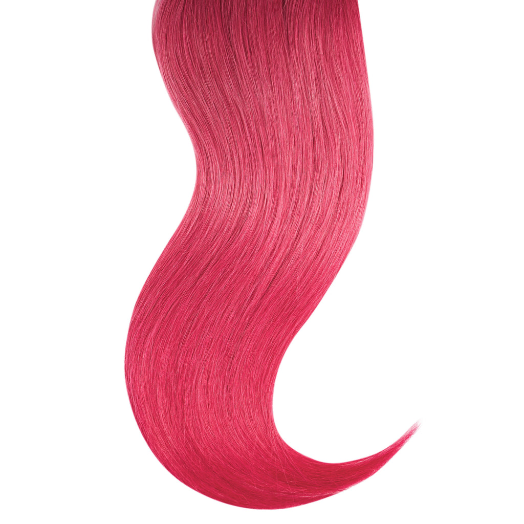 "Tape In Natural Hair Extensions. BARCELÓ Professional Tape-In 18"" -   Tape-In 24"" PINK FANTASY HAIR Natural Straight Hair Extensions. USA NEXT WORKING DAY DELIVERY ..."