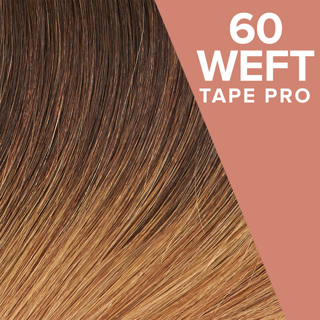 Honey Dip Ombré (2/14) Pack 60 Tape Wefts